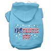 Mirage Pet Products Pawtriotic Pup Screen Print Pet Hoodies Baby Blue XS (8)