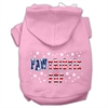 Mirage Pet Products Pawtriotic Pup Screen Print Pet Hoodies Light Pink L (14)