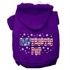 Mirage Pet Products Pawtriotic Pup Screen Print Pet Hoodies Purple Size S (10)
