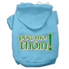 Mirage Pet Products Pog Mo Thoin Screen Print Pet Hoodies Baby Blue Size XXL (18)