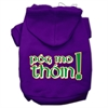 Mirage Pet Products Pog Mo Thoin Screen Print Pet Hoodies Purple Size XS (8)