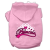 Mirage Pet Products I'm a Princess Screen Print Pet Hoodies Light Pink Size XS (8)
