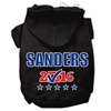 Mirage Pet Products Sanders Checkbox Election Screenprint Pet Hoodies Black Size XL (16)