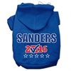 Mirage Pet Products Sanders Checkbox Election Screenprint Pet Hoodies Blue Size S (10)