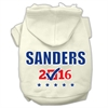 Mirage Pet Products Sanders Checkbox Election Screenprint Pet Hoodies Cream Size XXXL(20)