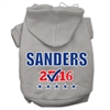 Mirage Pet Products Sanders Checkbox Election Screenprint Pet Hoodies Grey Size XXXL(20)