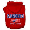 Mirage Pet Products Sanders Checkbox Election Screenprint Pet Hoodies Red Size XS (8)
