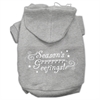 Mirage Pet Products Seasons Greetings Screen Print Pet Hoodies Grey Size XXL (18)