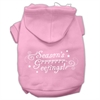 Mirage Pet Products Seasons Greetings Screen Print Pet Hoodies Light Pink Size M (12)