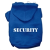 Mirage Pet Products Security Screen Print Pet Hoodies Blue Size Sm (10)