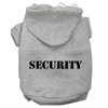 Mirage Pet Products Security Screen Print Pet Hoodies Grey Size w/ Black Size text XL (16)