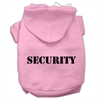 Mirage Pet Products Security Screen Print Pet Hoodies Light Pink Size w/ Black Size text Sm (10)