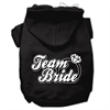 Mirage Pet Products Team Bride Screen Print Pet Hoodies Black Size XXL (18)