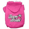 Mirage Pet Products Team Bride Screen Print Pet Hoodies Bright Pink Size Sm (10)