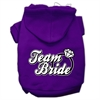 Mirage Pet Products Team Bride Screen Print Pet Hoodies Purple Size Sm (10)