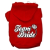 Mirage Pet Products Team Bride Screen Print Pet Hoodies Red Size Sm (10)