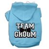 Mirage Pet Products Team Groom Screen Print Pet Hoodies Baby Blue Size XXL (18)