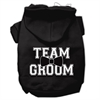 Mirage Pet Products Team Groom Screen Print Pet Hoodies Black Size XL (16)