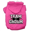 Mirage Pet Products Team Groom Screen Print Pet Hoodies Bright Pink Size Med (12)