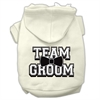 Mirage Pet Products Team Groom Screen Print Pet Hoodies Cream Size XXXL (20)