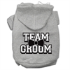 Mirage Pet Products Team Groom Screen Print Pet Hoodies Grey Size XL (16)