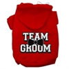 Mirage Pet Products Team Groom Screen Print Pet Hoodies Red Size Med (12)