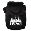 Mirage Pet Products Tokyo Skyline Screen Print Pet Hoodies Black Size XXL (18)