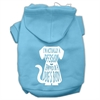 Mirage Pet Products Trapped Screen Print Pet Hoodies Baby Blue Size Med (12)
