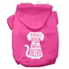 Mirage Pet Products Trapped Screen Print Pet Hoodies Bright Pink Size Sm (10)