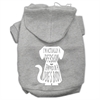 Mirage Pet Products Trapped Screen Print Pet Hoodies Grey Size XXXL (20)