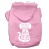 Mirage Pet Products Trapped Screen Print Pet Hoodies Light Pink Size XS (8)