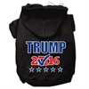 Mirage Pet Products Trump Checkbox Election Screenprint Pet Hoodies Black Size L (14)