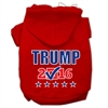 Mirage Pet Products Trump Checkbox Election Screenprint Pet Hoodies Red Size S (10)
