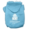 Mirage Pet Products Wedding Crasher Screen Print Pet Hoodies Baby Blue Size Lg (14)