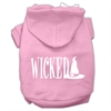 Mirage Pet Products Wicked Screen Print Pet Hoodies Light Pink Size M (12)