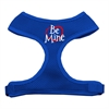 Mirage Pet Products Be Mine Soft Mesh Harnesses Blue Small