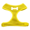 Mirage Pet Products Bone Design Soft Mesh Harnesses Yellow Extra Large