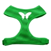 Mirage Pet Products Butterfly Design Soft Mesh Harnesses Emerald Green Medium