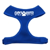 Mirage Pet Products Ghost Hunter Design Soft Mesh Harnesses Blue Extra Large