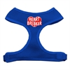 Mirage Pet Products Heart Breaker Soft Mesh Harnesses Blue Extra Large