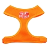 Mirage Pet Products Heart Breaker Soft Mesh Harnesses Orange Medium