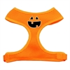 Mirage Pet Products Pumpkin Face Design Soft Mesh Harnesses Orange Medium
