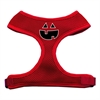 Mirage Pet Products Pumpkin Face Design Soft Mesh Harnesses Red Small