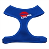 Mirage Pet Products Kiss Me Soft Mesh Harnesses Blue Small