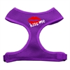 Mirage Pet Products Kiss Me Soft Mesh Harnesses Purple Large