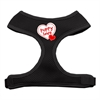 Mirage Pet Products Puppy Love Soft Mesh Harnesses Black Small