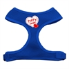 Mirage Pet Products Puppy Love Soft Mesh Harnesses Blue Extra Large