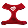 Mirage Pet Products Puppy Love Soft Mesh Harnesses Red Extra Large