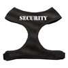 Mirage Pet Products Security Design Soft Mesh Harnesses Black Small