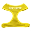 Mirage Pet Products Security Design Soft Mesh Harnesses Yellow Medium